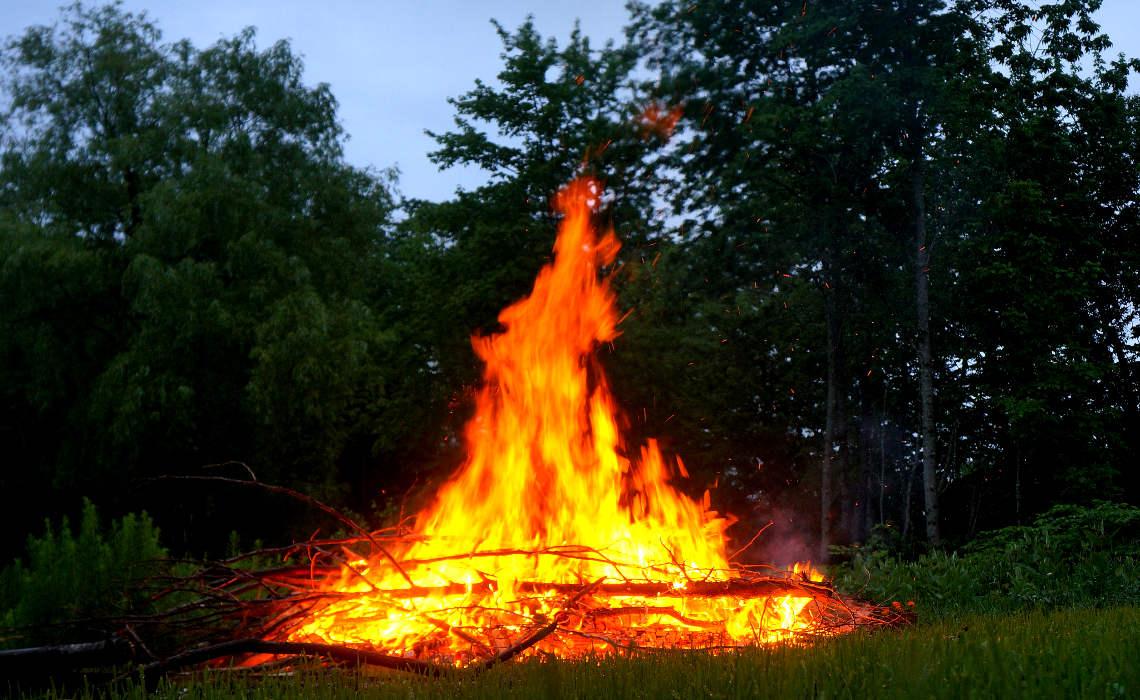 Bonfire [CCBY MikeLewinski]